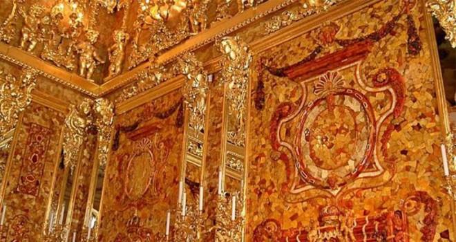 Nazilerin Rus sarayından çaldığı gizemli Kehribar Oda bulundu mu?