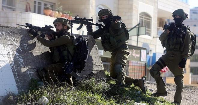 İsrail askerlerinden gerçek mermiyle müdahale