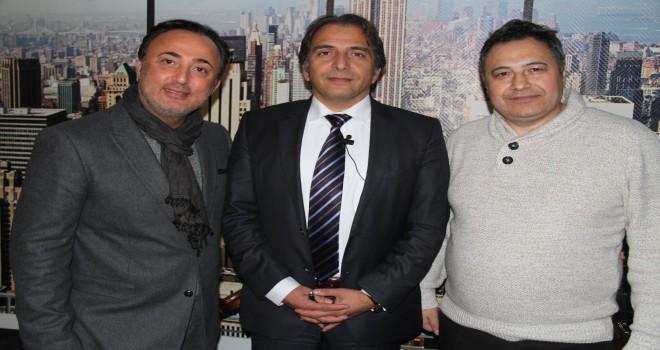 B. K. editörü Kadir Duran,  Brüksel Schaerbeek Belediye Başkan Yardımcısı Sait Köse ile söyleşi yaptı