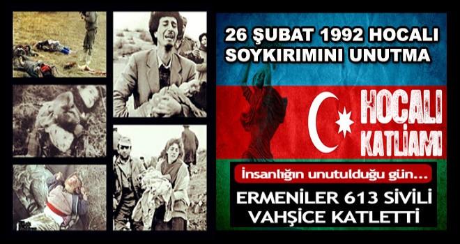 'HEPİMİZ TÜRKÜZ, HEPİMİZ HOCALI'YIZ' MİTİNGİNE DAVET...!