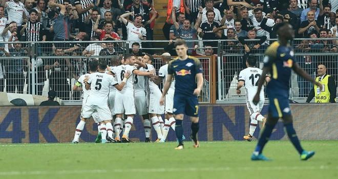 Beşiktaş'tan net galibiyet