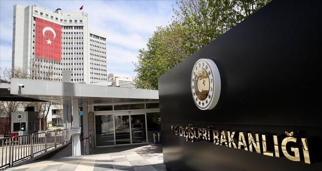 Dışişleri Bakanlığından BM'nin Kaşıkçı raporuna ilişkin açıklama