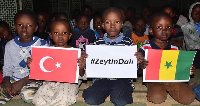 Senegalli öğrencilerinden Türk askerine dua