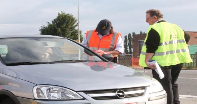 Flaman Vergi İdaresi müfettişleri, yarın N12 Wijnegem yolu üzerinde trafik vergisi denetimi düzenliyor