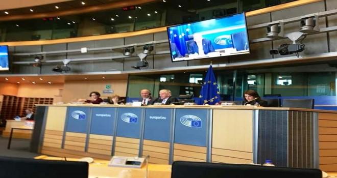 CHP Belçika Birliği AP'da 8 Mart Dünya kadınlar günü sempozyumu düzenledi