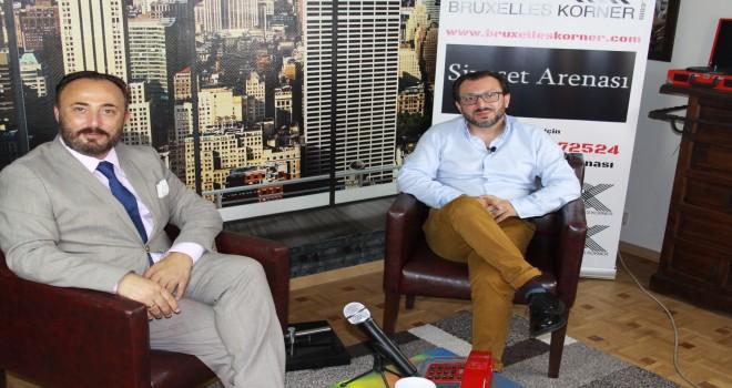 Hakan Hüsnü Erzurumlu Bruxelles Korner'e konuştu