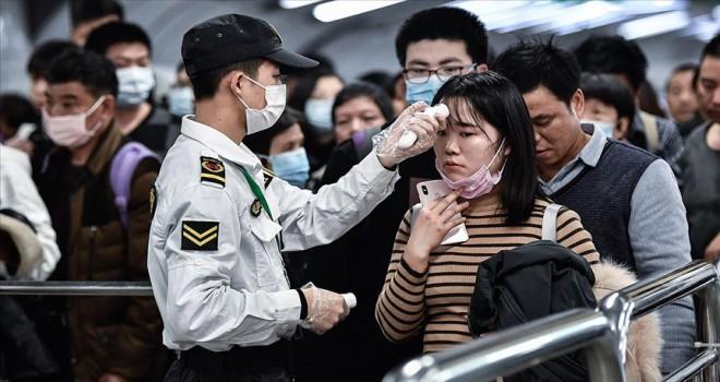 Çin'de Kovid-19'un merkezi Hubey'de can kaybı bir günde 242 arttı