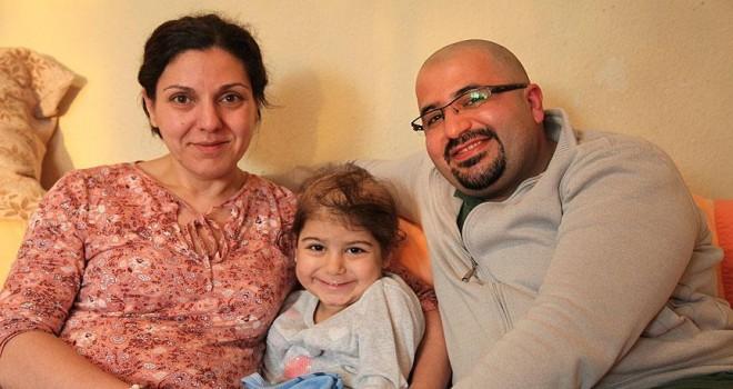 Almanya'da 4 yaşındaki Neva için ilik aranıyor