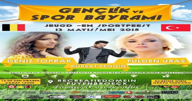GENT'TE 19 MAYIS GENÇLİK VE SPOR BAYRAMI