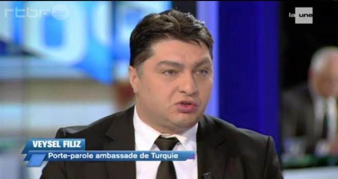 T.C. Brüksel Büyükelçiliğinin 'Yıldırma ve Tehdit' suçlamasıyla ilgili yazılı basın açıklaması