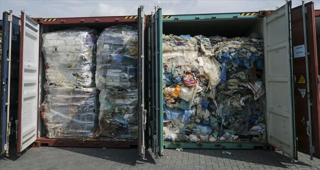 Malezya kaçak getirilen 7 bin 420 ton plastik atığı iade edecek