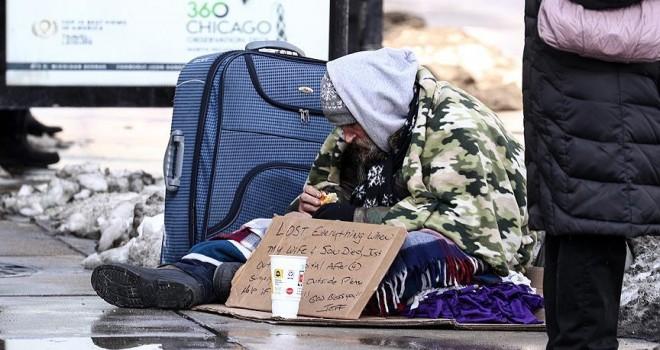 Brüksel'de barınağa gitmeyen evsizler tutuklanacak