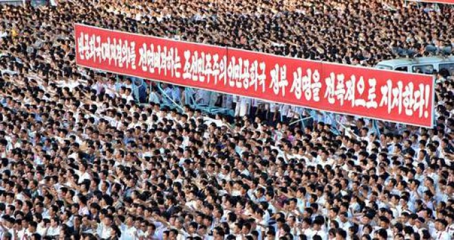 Kuzey Kore: ABD'den intikam almak için orduya 3,5 milyon gönüllü başvurdu