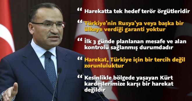 Başbakan Yardımcısı Bozdağ: Zeytin Dalı Harekatı'nda tek hedef terör örgütleridir