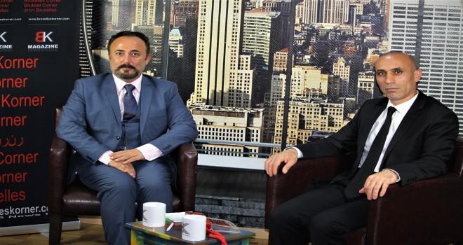 Belçika Türk Federasyonu genel başkanı Ömer Zararsız Bruxelles Korner'e konuştu