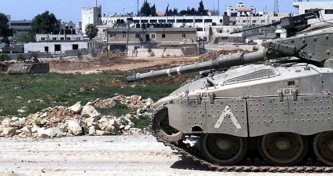 İsrail tankları Gazze'yi vurdu