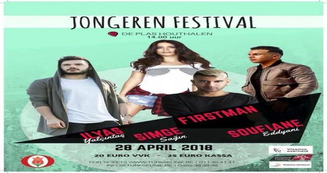 Gençlik Festivali, Bu yıl 28 nisan 2018'da Houthalen ' de
