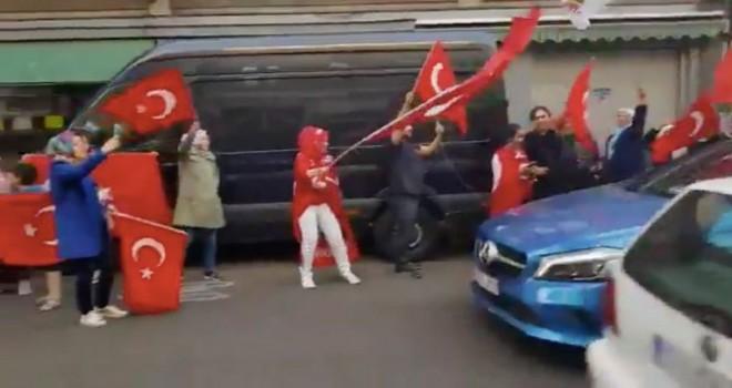 Heusden-Zolder'da Erdoğan zaferini kutlayanlara düzinelerce tutanak tutuldu