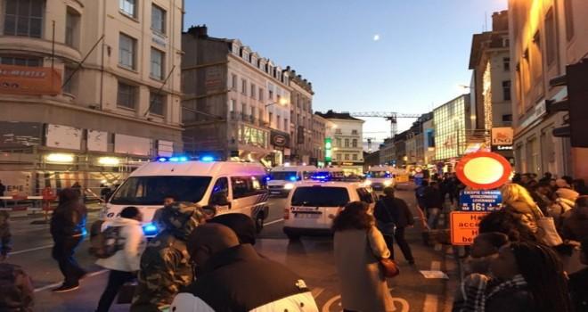 Brüksel'de yürüyüş kontrolden çıktı: 71 isyancı vandalizmden tutuklandı