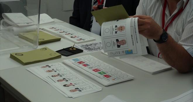 Yurt dışında ilk oylar verilmeye başlandı