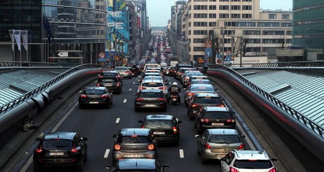 Brüksel'de toplu taşıma grevi