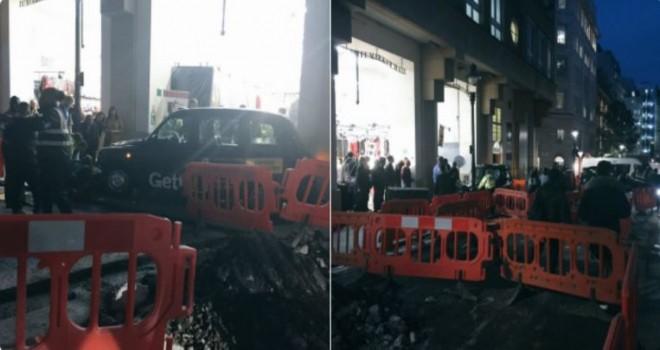 Londra'da bir taksi şoförü aracını yayaların üzerine sürdü: 'Terör olayı olmadığı açıklandı'