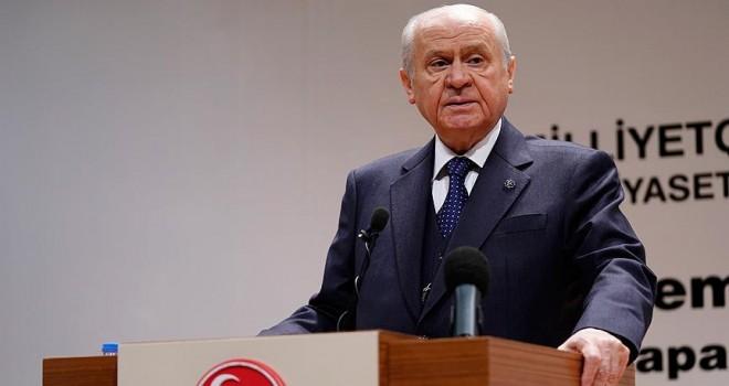 MHP Genel Başkanı Bahçeli: Aynı itham ve iftiralar yine sahne almıştır