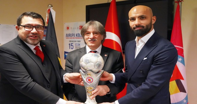 Belçika'da, 2019 Yılın Sporcusu Ödülleri, Anvers Başkonsolosluğu'nda verildi