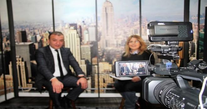 B.K. editörü Zehra Özer,  Gent Belediye Başkan Yardımcısı Resul Tapmaz  ile söyleşi yaptı