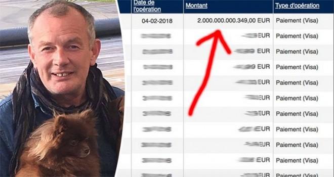 Belçika'lı adamın banka hesabına 2 trilyon avro eklenince arkadaşlık isteği yağmuruna tutuldu