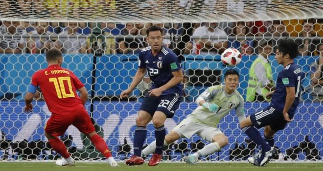 Belçika uzatmalarda bulduğu golle çeyrek finalde