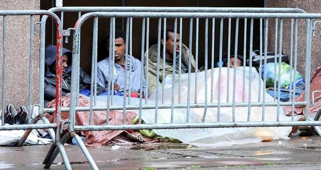 Belçika'da polis müdahalesi sonrası sığınmacı sayısı azaldı