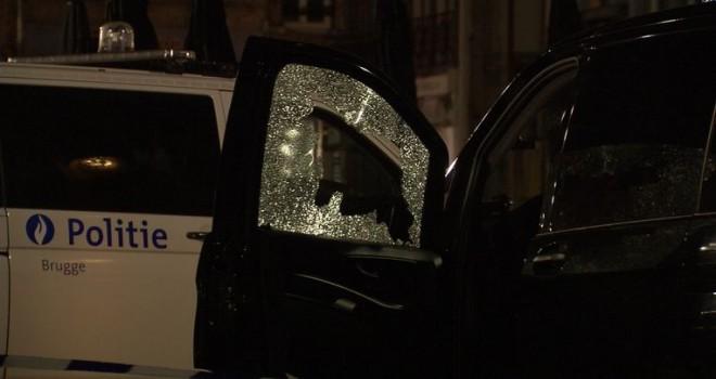 Brugge'de taksi şoförü kurșunla boyundan vuruldu