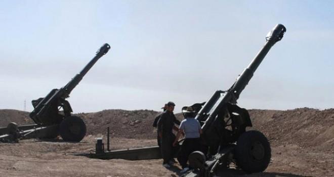 İran, Erbil'in Dağlık Bölgelerini Bombalıyor
