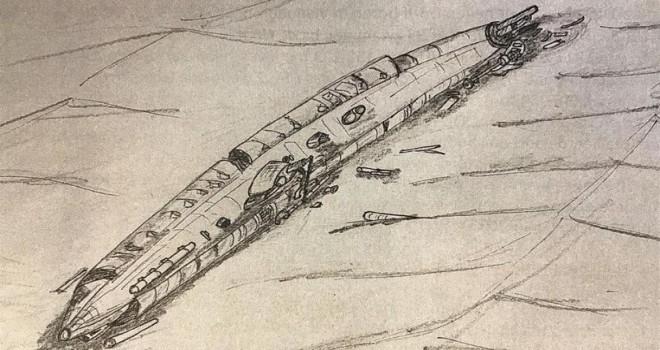 Birinci Dünya Savaşı'ndan kalma içinde 23 mürettebatının kalıntıları olan denizaltı gemisi bulundu