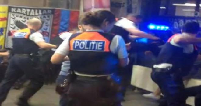 Türk kafesinde yapılan tutuklama esnasında aşırı şiddet kullanan polisler beraat ettiler