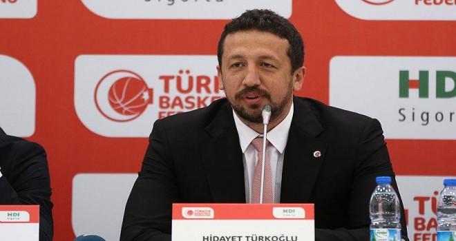 TBF Başkanı Türkoğlu: Oyuncularımız iyi mücadele sergileyeceklerdir