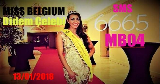 Belçika güzellik yarışması bu akşam 20:30 da AB3 & Fox da yayımlanacak