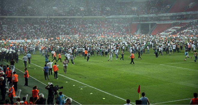 Süper Kupa maçındaki olaylar mercek altında