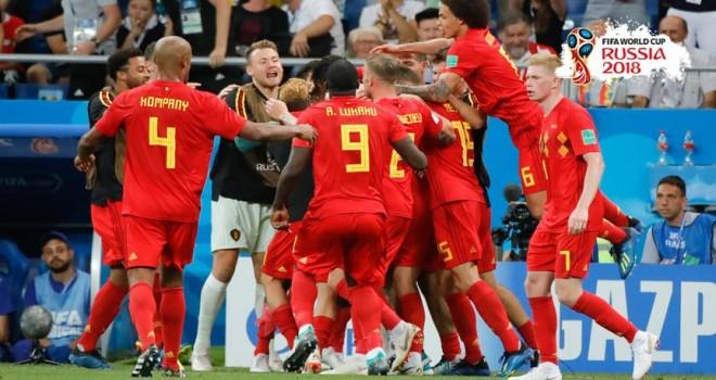 Brezilya ile Belçika 5. kez karşı karşıya