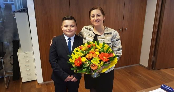 Başkonsolos Dilşad Kırbaşlı Karaoğlu, 23 Nisan Ulusal Egemenlik ve Çocuk Bayramı