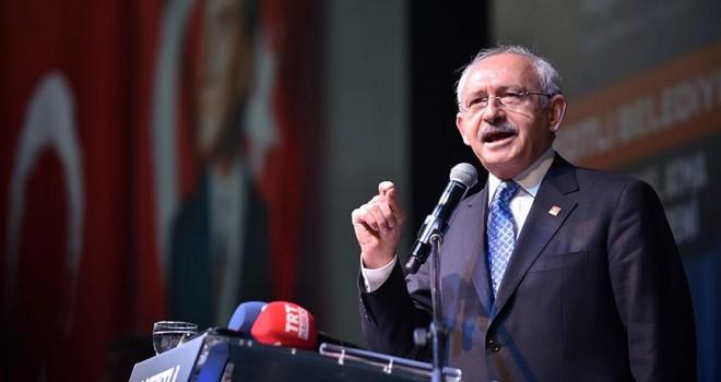 CHP Genel Başkanı Kılıçdaroğlu: Bu işi sonuna kadar götüreceğim
