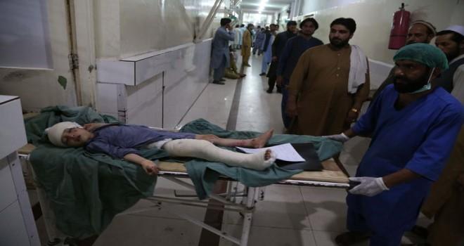 Afganistan'da bayramlaşma sırasında bombalı saldırı: 36 kişi öldü