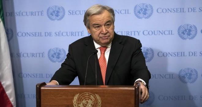 BM Genel Sekreteri Guterres: Suriye'de kuşatma altındaki bölgelere insani yardım ulaştırılamıyor