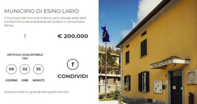 İtalyan belediyesi parasızlıktan belediye binasını satılığa çıkardı