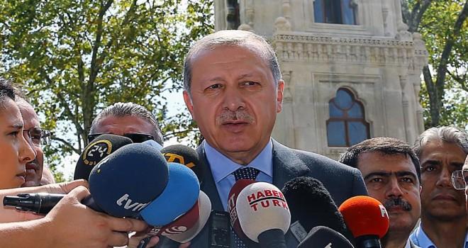 Cumhurbaşkanı Erdoğan'dan Almanya'daki Türklere çağrı