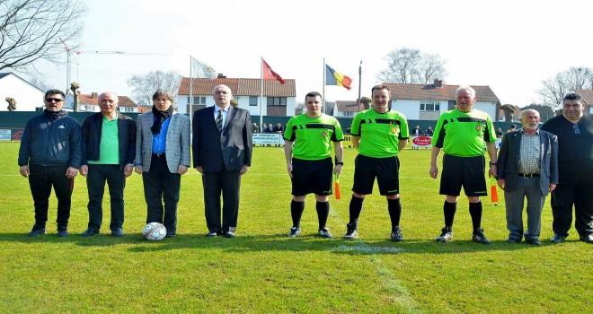 Türkgücü ile FC Anadol  Bugün 25 Mart Pazar Beringen´de karşı karşıya geldi