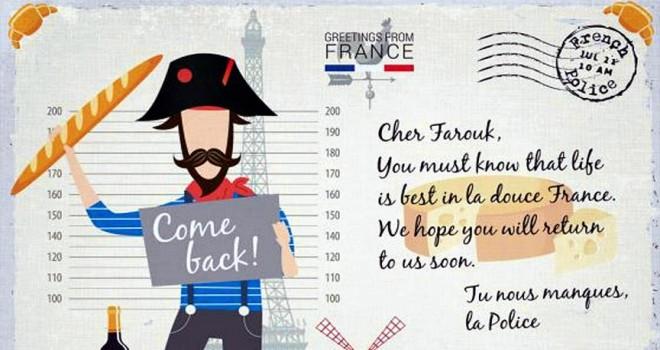 Avrupa polisi suçluları kartpostalla arıyor
