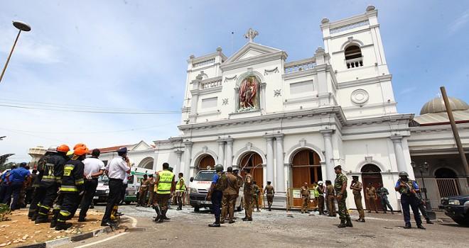 Sri Lanka'da terör saldırısı