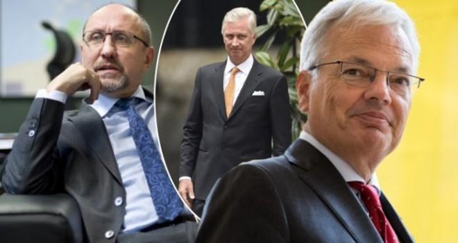 Kral, D. Reynders ve J. Vande Lanotte'yi kraliyet izcisi olarak atadı